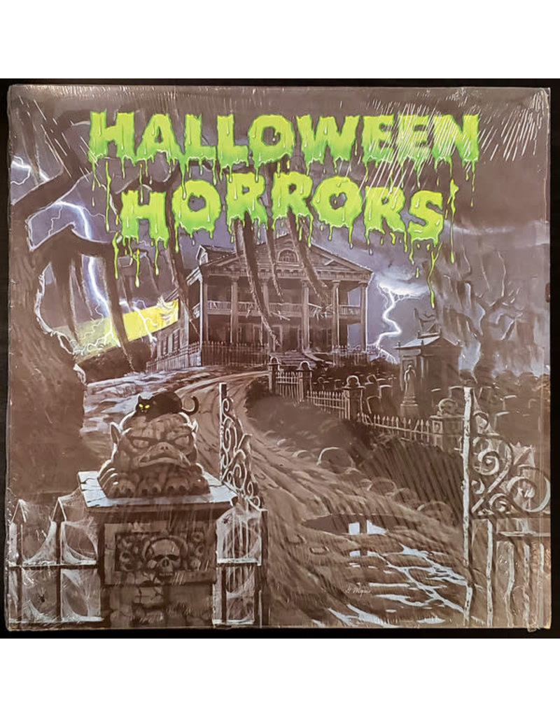(VINTAGE) J. Robert Elliot - Halloween Horrors: The Sounds Of Halloween (And Other Useful Effects) LP [NM] (1977, Canada), D Code)