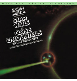 (VINTAGE) Zubin Mehta Conducts Los Angeles Philharmonic Orchestra - Suites From Star Wars And Close Encounters Of The Third Kind LP [Sleeve:VG+,Disc:NM] (1978, US)