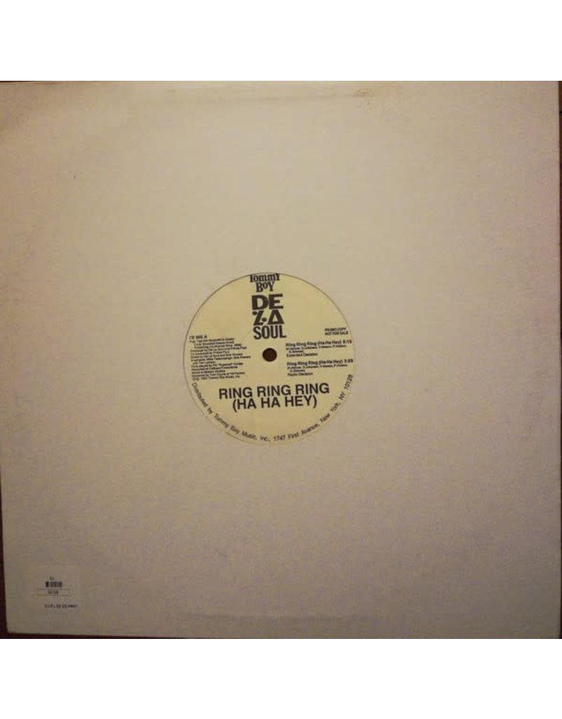 "(VINTAGE) De La Soul - Ring Ring Ring (Ha Ha Hey) 12"" [NM] (1991,US), Promo"
