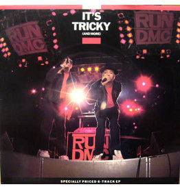 """(VINTAGE) Run-DMC - It's Tricky (And More) 12"""" [NM] (1987, Canada), Promo Punch Hole"""
