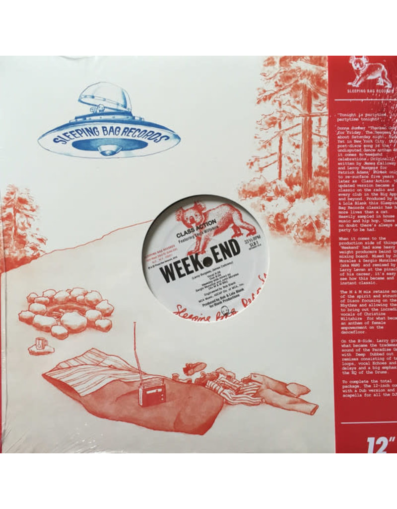 """Class Action Featuring Chris Wiltshire - Weekend 12"""" (2016 Get On Down Reissue)"""