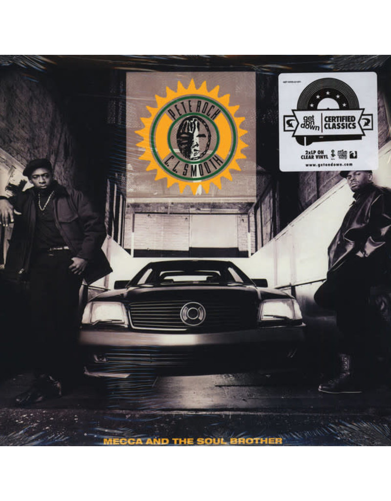 Pete Rock & C.L. Smooth - Mecca And The Soul Brother 2LP (2016 Get On Down Reissue), Clear