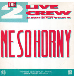 """(VINTAGE) The 2 Live Crew - Me So Horny 12"""" [NM] (1989,US)"""