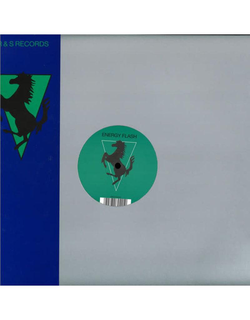 "Joey Beltram - Energy Flash 12"" (Clear vinyl, Single Sided, Reissue, Remastered)"