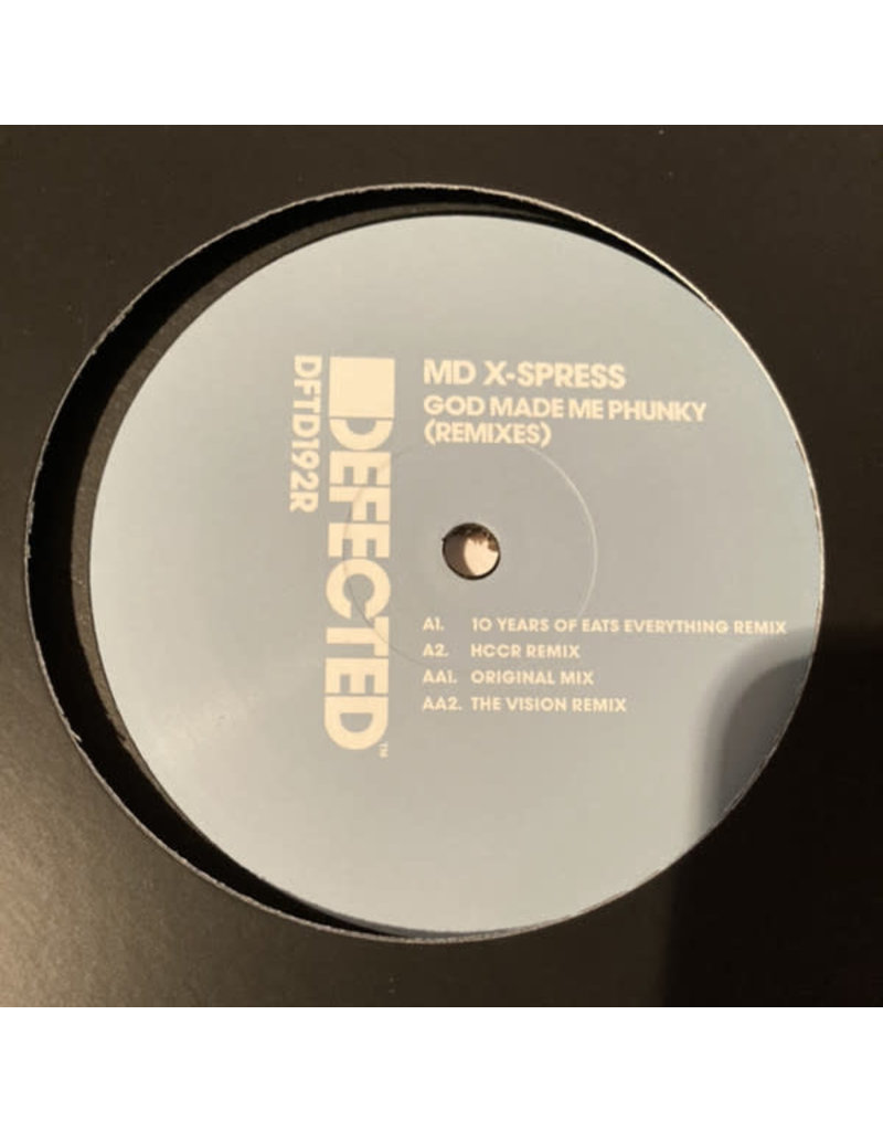 "MD X-Spress - God Made Me Funky 12"" (2021)"