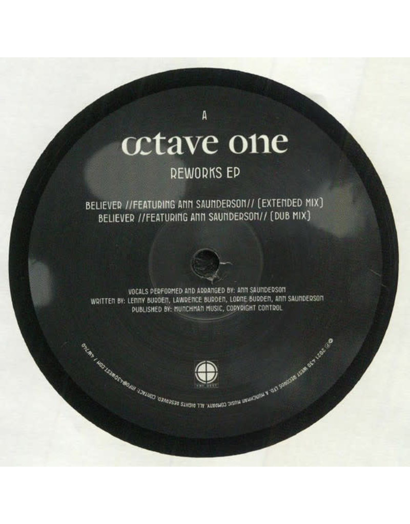 """Octave One - Reworks EP 12"""" (2021)"""