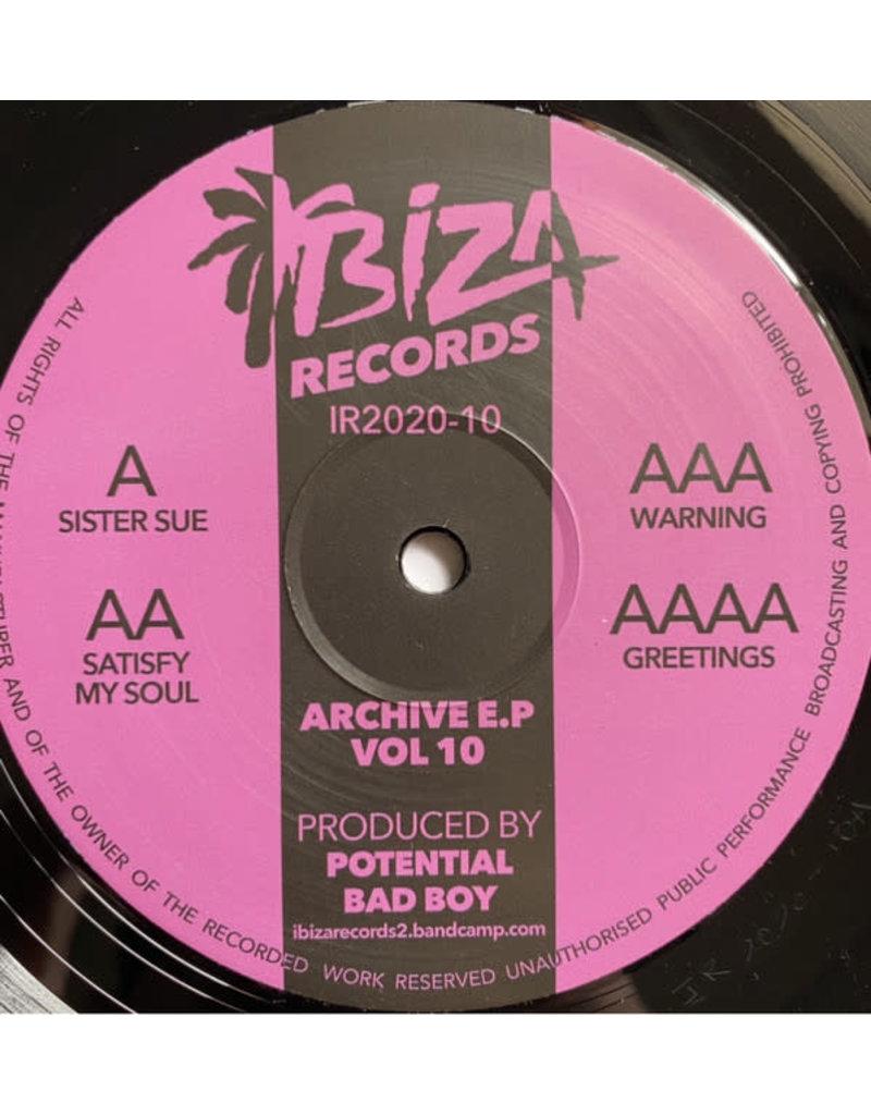 Potential Bad Boy - Archive Vol 10 EP (2021)
