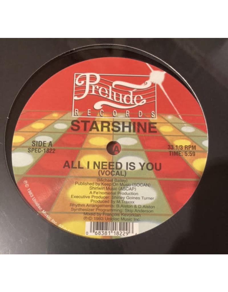 "Starshine - All I Need Is You 12"" (2021)"