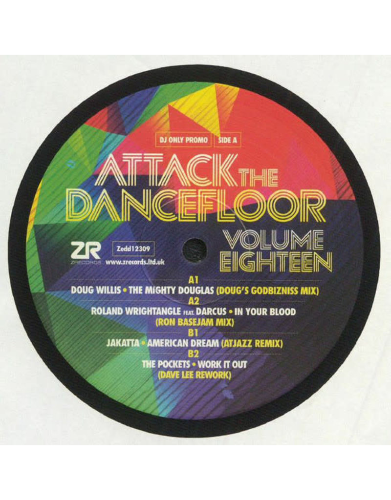 "Various - Attack The Dancefloor Vol 18 12"" (2021)"
