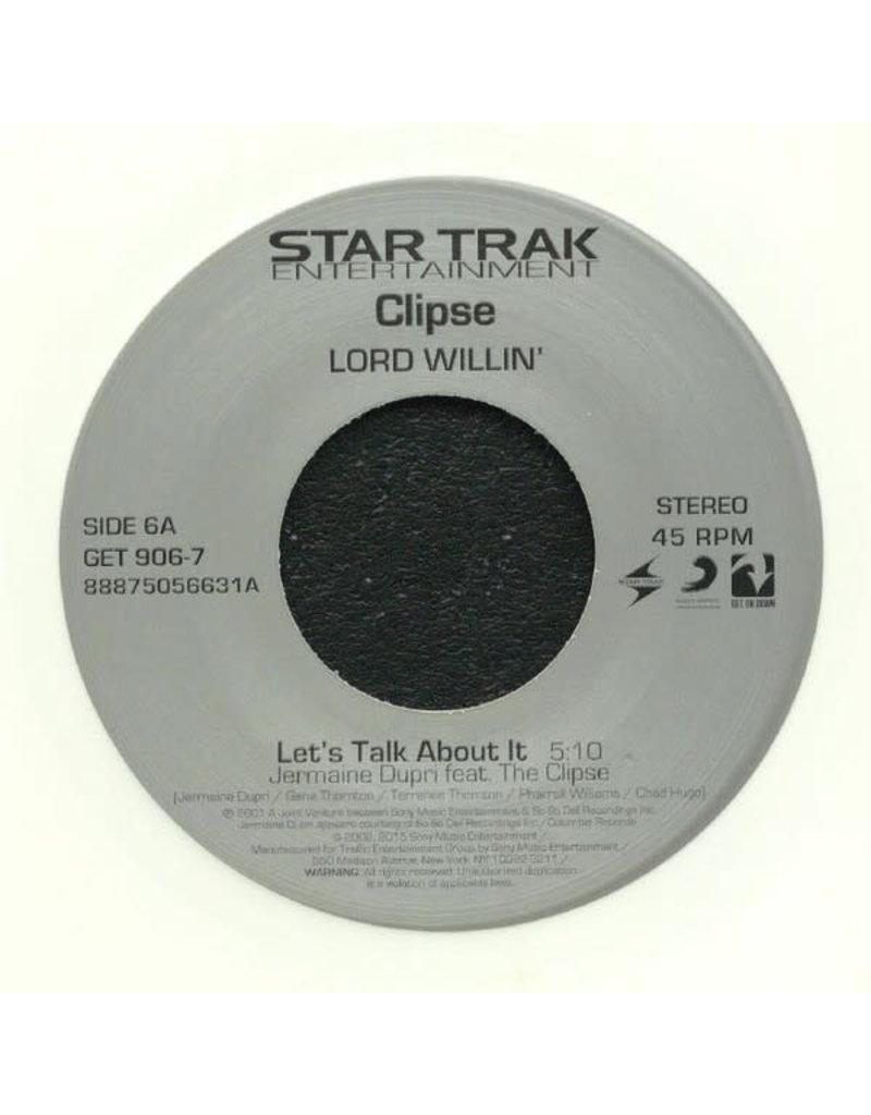 "Clipse - Let's Talk About It / Gangsta Lean 7""(2019)"
