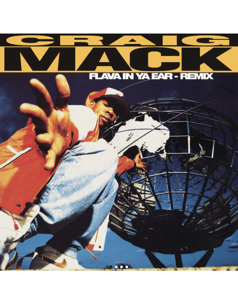 "Craig Mack - Flava In Ya Ear (Remix) 7"" (2018 Get On Down)"