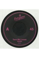 """Vanilla (Hugo Harrison) - Turn Me Loose 7"""" (2021)"""