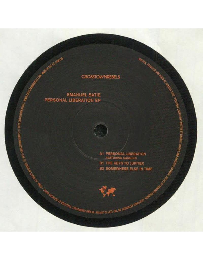 "Emanuel Satie - Personal Liberation EP 12"" (2021)"