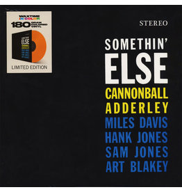 Cannonball Adderley -  Somethin' Else LP (2018 Reissue), Orange, WaxTime In Color