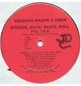"""(VINTAGE) Vaughan Mason & Crew/Young & Company - Bounce, Rock, Skate, Roll/I Like (What You're Doing To Me) 12"""" [SEALED,MINT] (1988,US)"""
