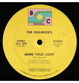 "(VINTAGE) The Grainger's - Shine Your Light 12"" [VG] (1981,US)"