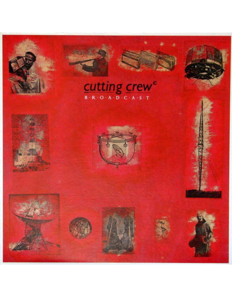 (VINTAGE) Cutting Crew - Broadcast LP [VG+] (1986, Canada)