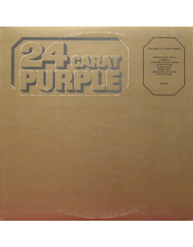(VINTAGE) Deep Purple - 24 Carat Purple LP [Sleeve:VG+,Disc:VG] (1975,Canada), Compilation