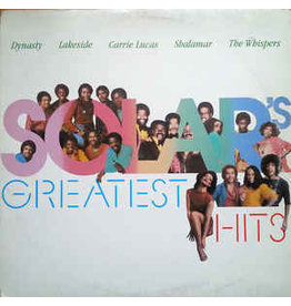 (VINTAGE) V/A - Solar's Greatest Hits LP [Sleeve:NM w/ Punch Hole,Disc:VG+] (1982,Canada), Compilation