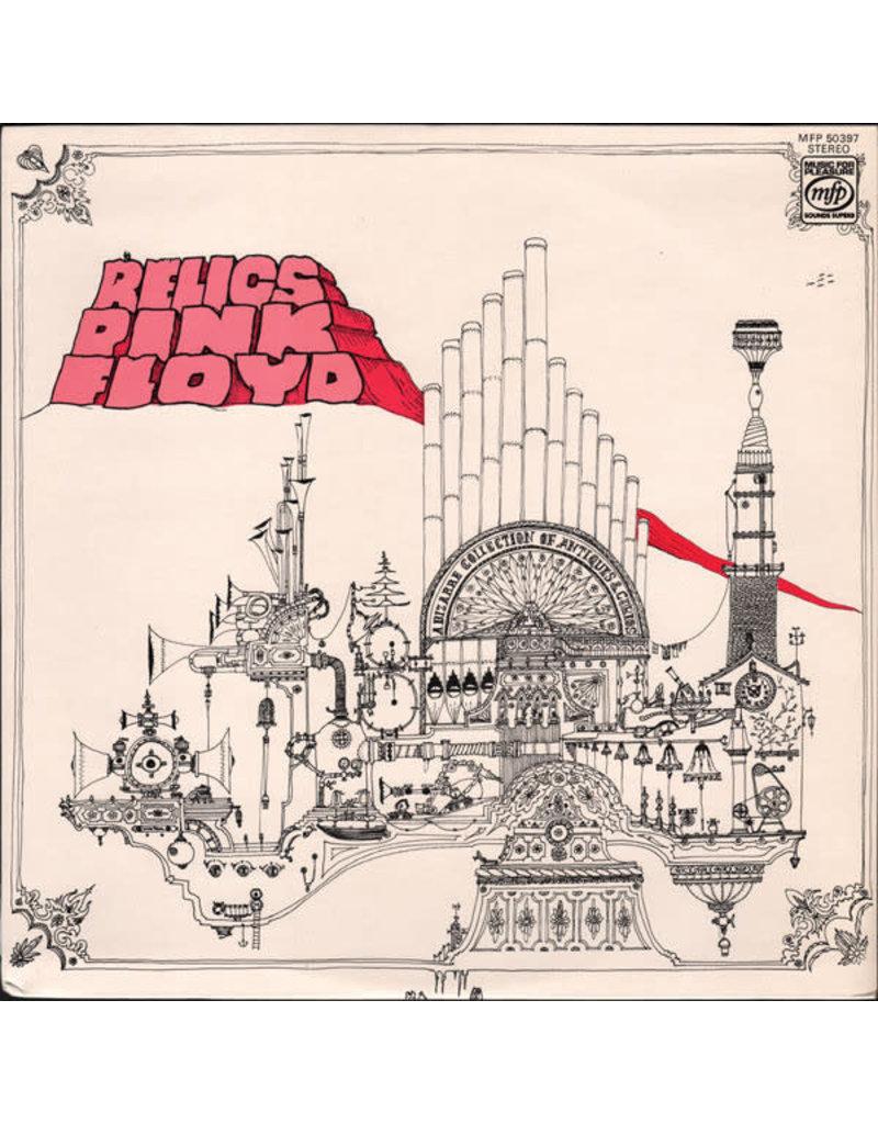 (VINTAGE) Pink Floyd - Relics LP [Sleeve:VG,Disc:VG+] (1978 Reissue, Canada)