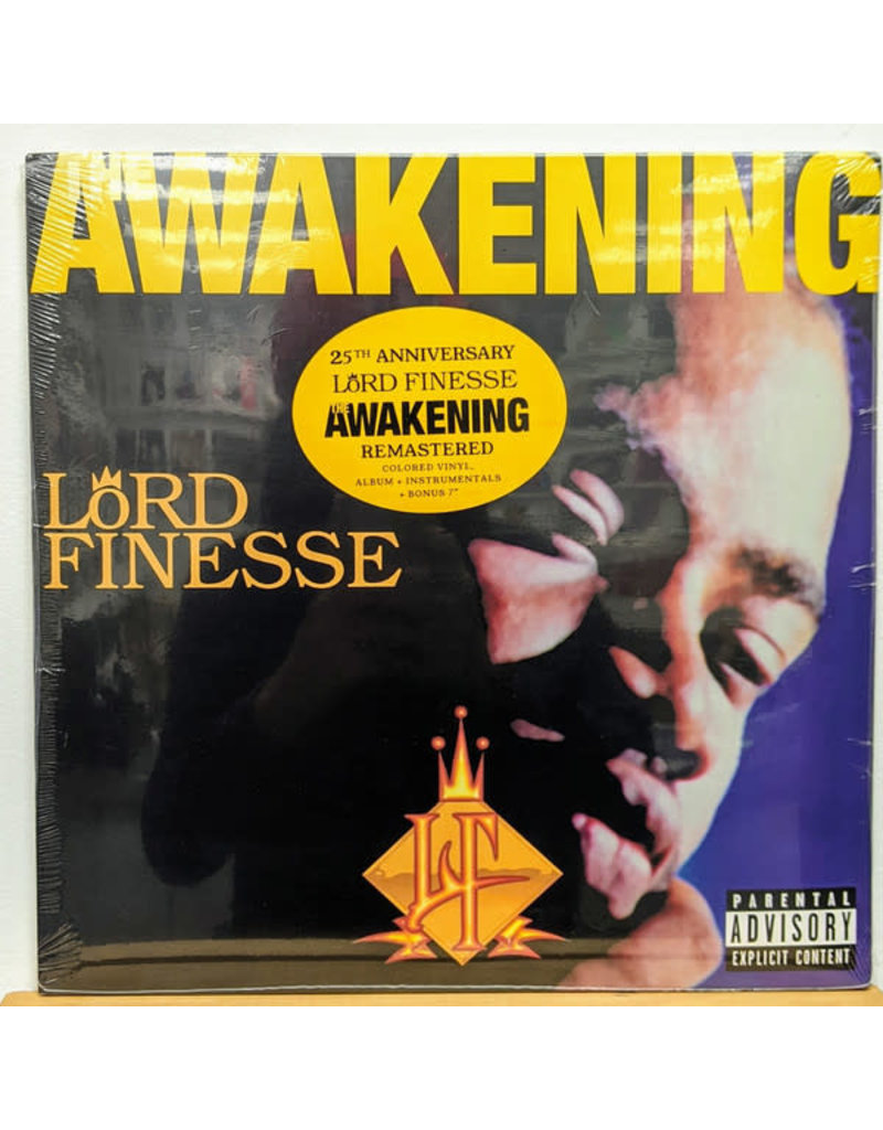 """Lord Finesse - The Awakening 2LP+7"""" (2021), 20th Anniversary Remastered"""