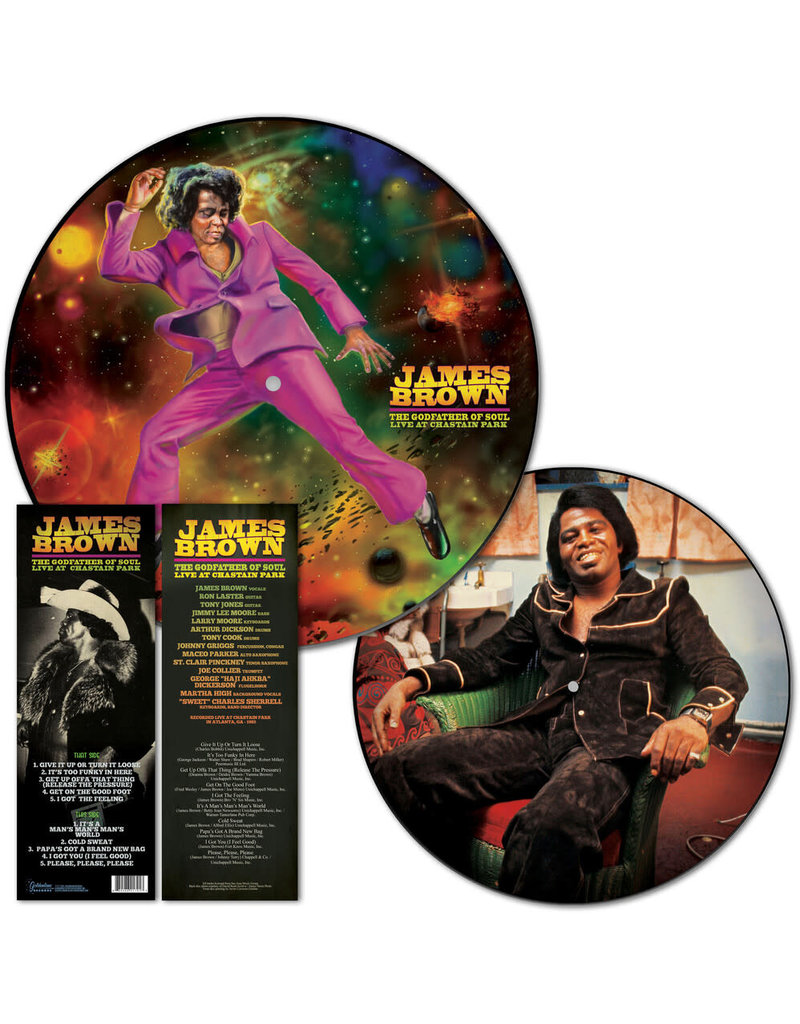 James Brown - The Godfather Of Soul Live At Chastain Park LP (Picture Disc)(2021)