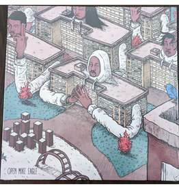 Open Mike Eagle - Brick Body Kids Still Daydream LP (2021), White Clouds Vinyl
