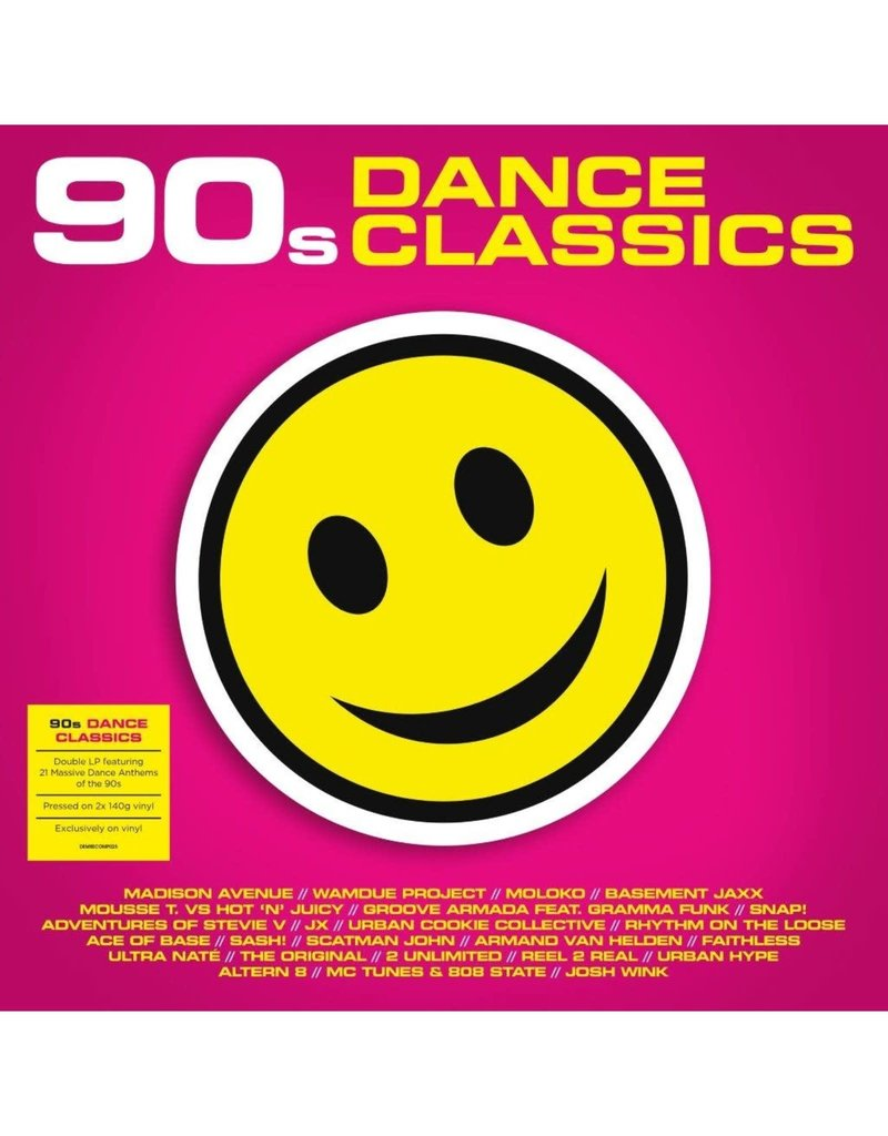 Various - 90s Dance Classics 2LP (2021 Compilation)