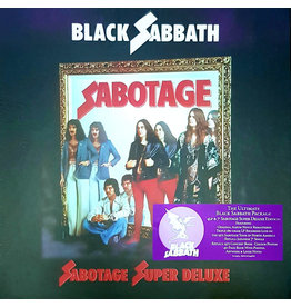 "Black Sabbath - Sabotage 4LP+7"" BOX SET (2021), Super Deluxe Edition"