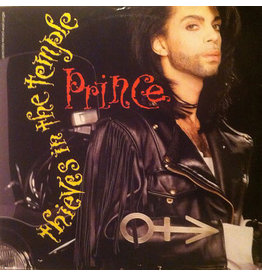 """(VINTAGE) Prince - Thieves In The Temple 12"""" [Sleeve:VG,Disc:VG+] (1990, Canada)"""