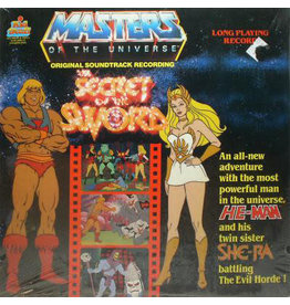 (VINTAGE) Unknown Artist - Masters Of The Universe: Secret Of The Sword OST LP [Sleeve:VG+,Disc:VG] (1985, Canada)