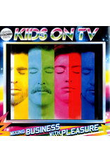 (VINTAGE) Kids On TV - Mixing Business With Pleasure LP [NM] (2007, Germany). Limited Clear Vinyl, {Leftfield, Electro}