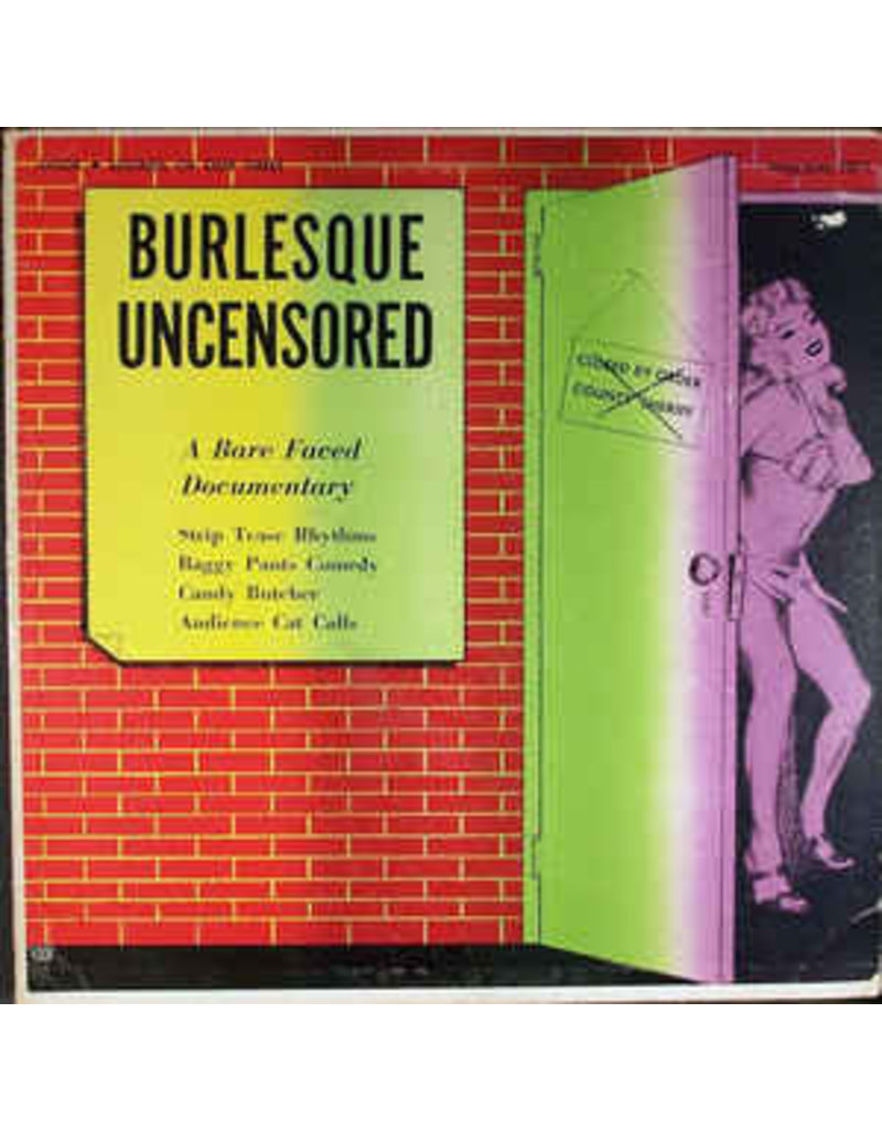 (VINTAGE) V/A - Burlesque Uncensored LP [VG] (1955, US) {Field Recording, Comedy, Dixieland}
