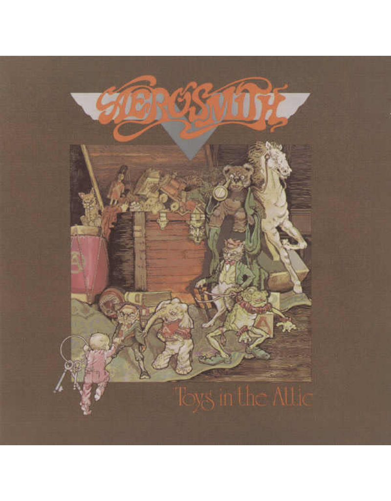 (VINTAGE) Aerosmith - Toys In The Attic LP [Cover:VG,Disc:NM] (1975, Canada)