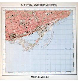 (VINTAGE) Martha And The Muffins - Metro Music LP [VG+] (1980,Canada), w/ Lyrics Insert