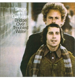 """(VINTAGE) Simon And Garfunkel - Bridge Over Troubled Water LP [Cover:NM,Disc:VG+] (1970, Canada), """"360 Sound"""""""