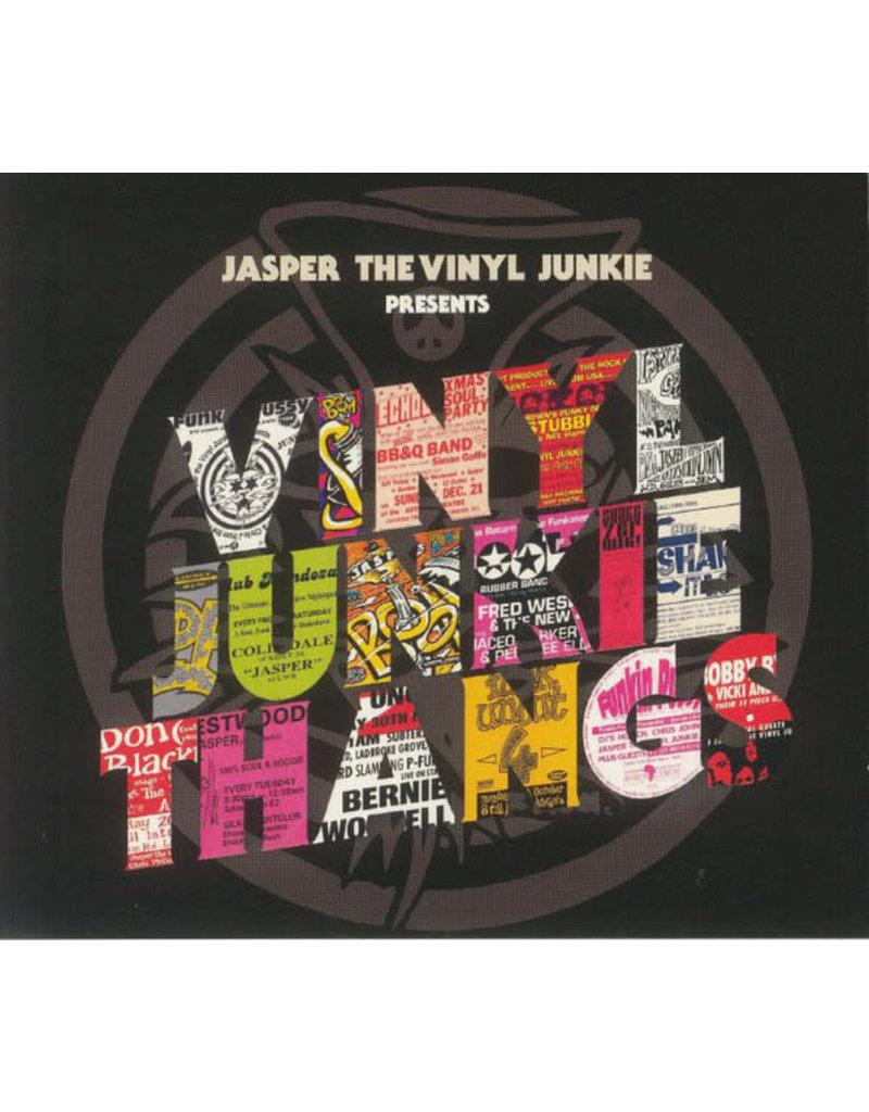 """Jasper The Vinyl Junkie - Vinyl Junkie Thangs 3LP+7"""" (2021)"""