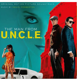 Daniel Pemberton – The Man From U.N.C.L.E. OST (2021 Music On Vinyl), Numbered, Yellow, 180g