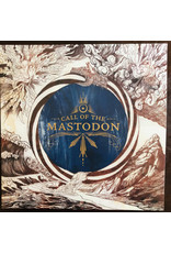 Mastodon - Call Of The Mastodon LP (2021 Repress Compilation), Royal Blue with Metallic Gold Butterfly Wings and White and Black Splatter