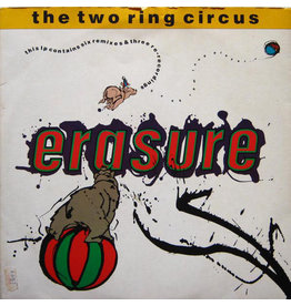 (VINTAGE) Erasure - The Two Ring Circus 2LP [Cover:NM,Disc1:VG,Disc2:NM] (1987,Canada)