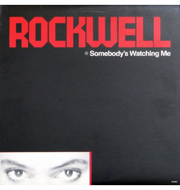 (VINTAGE) Rockwell - Somebody's Watching Me LP [Cover:VG,Disc:VG+] (1984,Canada)