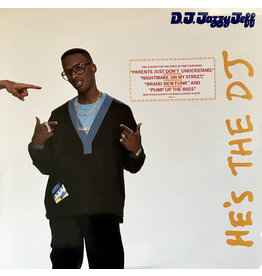 (VINTAGE) DJ Jazzy Jeff & The Fresh Prince - He's The DJ, I'm The Rapper 2LP [Cover:VG,Disc:VG+,Inner Sleeve:VG] (1988,US)
