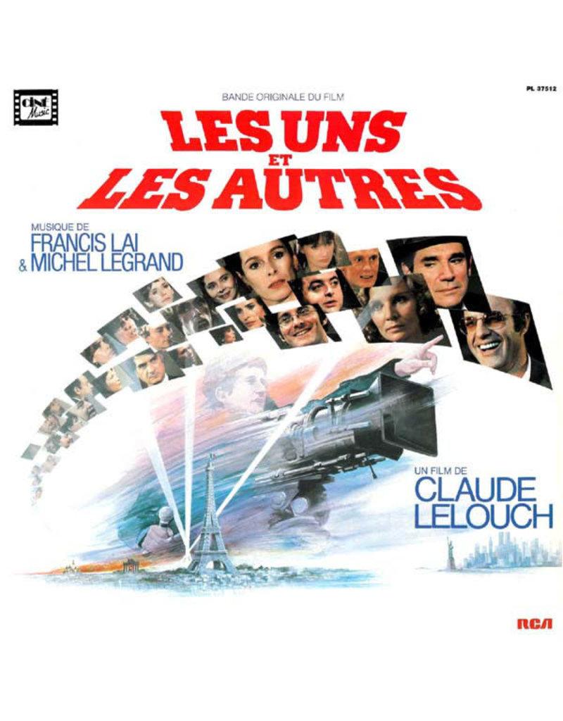 (VINTAGE) Francis Lai & Michel Legrand - Les Uns Et Les Autres OST LP [Cover:VG+,Disc:VG+] (1982,Netherland)