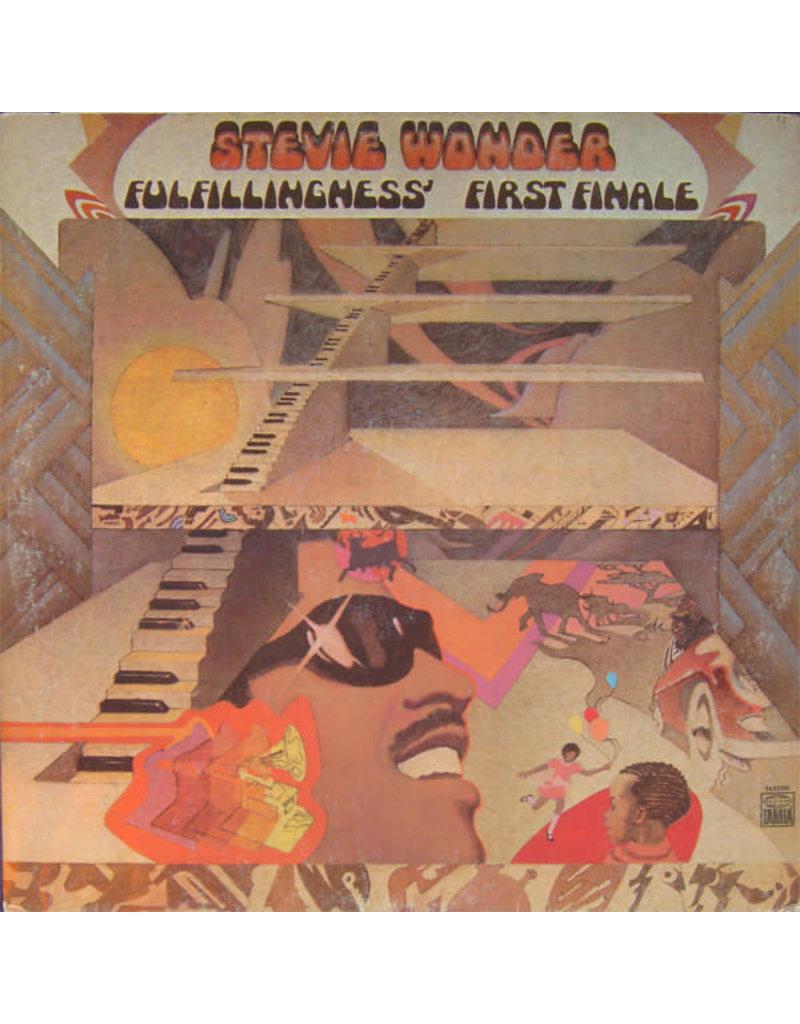 (VINTAGE) Stevie Wonder - Fulfillingness' First Finale LP [Cover:VG,Disc:VG] (1974,US)