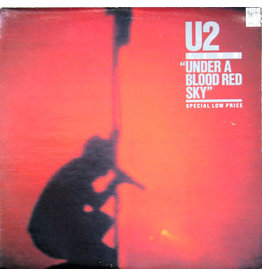 (VINTAGE) U2 - Under A Blood Red Sky LP, Mini-Album [Cover:VG,Disc:VG+] (1985,Canada)
