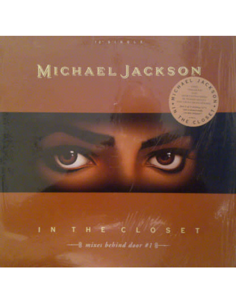 """(VINTAGE) Michael Jackson - In The Closet (Mixes Behind Door #1) 12"""" [NM] (1992,US)"""