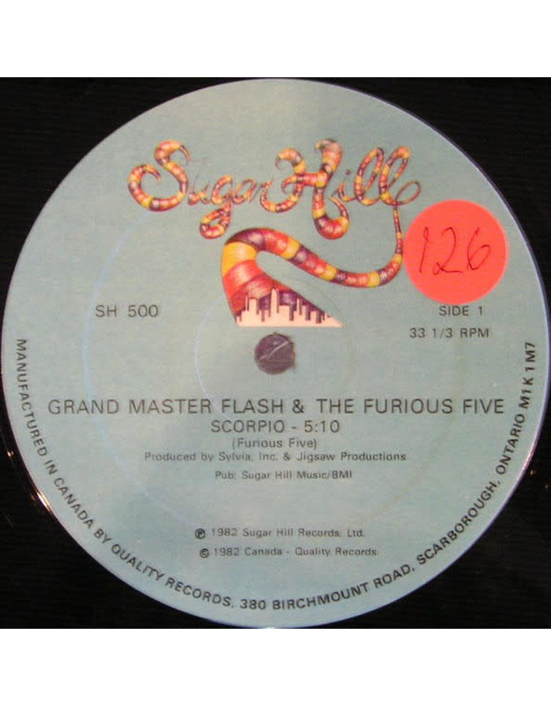 "(VINTAGE) Grandmaster Flash & The Furious Five - Scorpio 12"" [VG] (1982, Canada)"