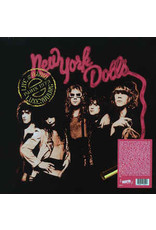 New York Dolls - Live At Radio Luxembourg Paris France December 1973 LP (2021 Reissue)