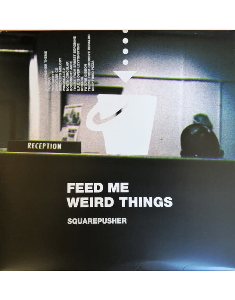 """Squarepusher - Feed Me Weird Things 2LP+10"""" (2021 Reissue,Remastered), Indie Exclusive Transparent, 25th Anniversary"""