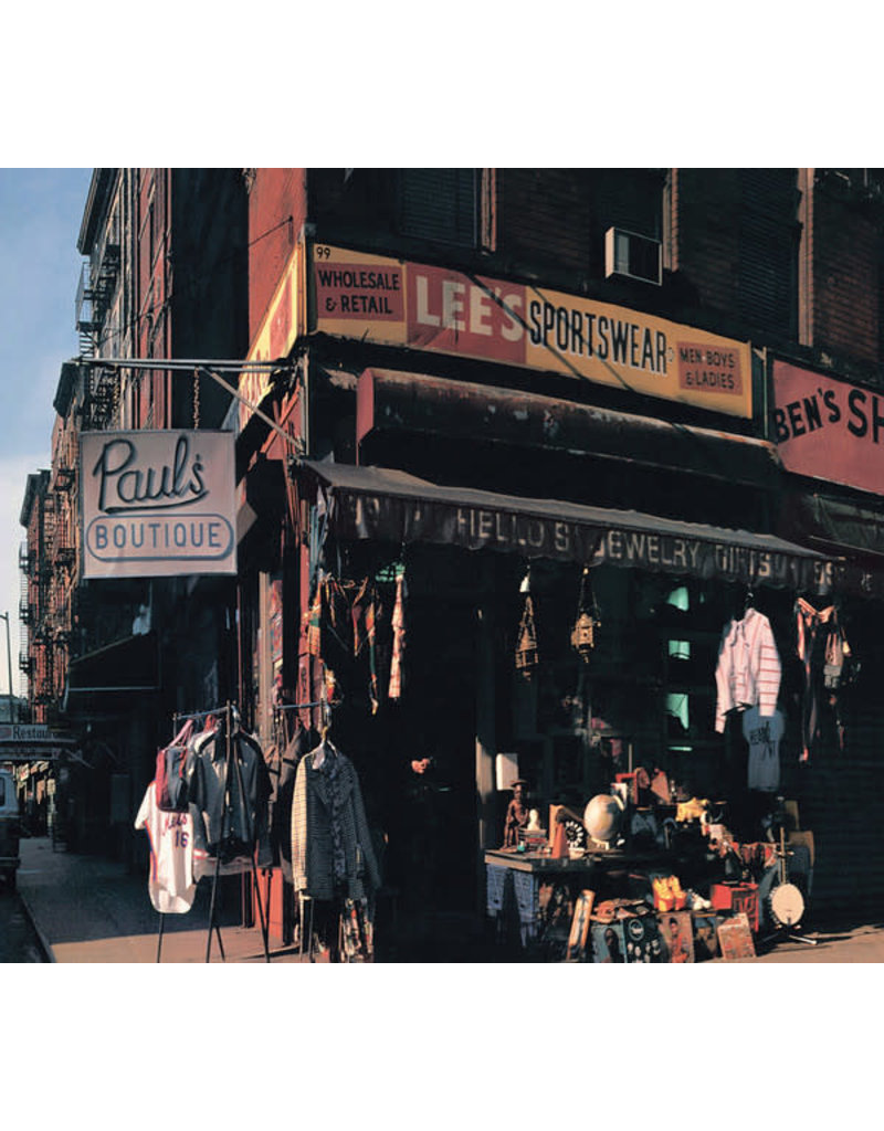 HH Beastie Boys - Paul's Boutique (20th Anniversary Edition) 2LP (2009 Reissue, Remastered), Double Gatefold